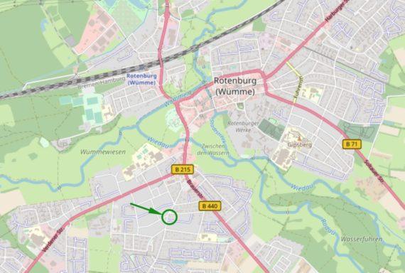 Anfahrtsskizze Schmidt's Rotenburg