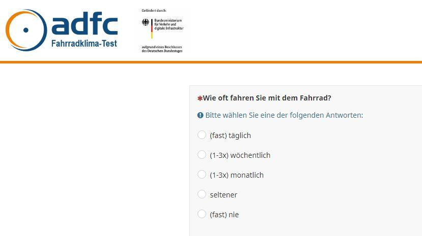 Online-Umfage_ Fahrradklima-Test